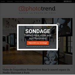 Visite de l'exposition Perspectives dans le nouvel espace du Studio Harcourt à Paris