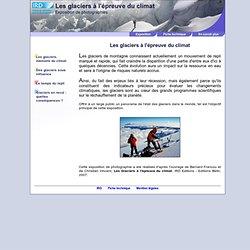 Les glaciers à l'épreuve du climat, exposition de photographies #IRD#