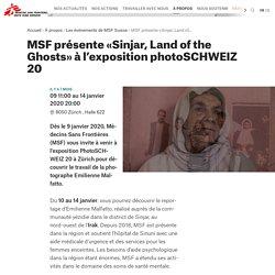 présente «Sinjar, Land of the Ghosts» à l'exposition photoSCHWEIZ 20