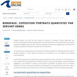 exposition 'Portraits Quantistes' par Servant-Ermes