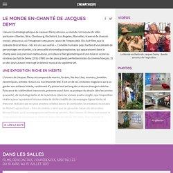 Exposition et rétrospective Le monde enchanté de Jacques Demy