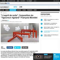 """""""L'esprit de suite"""", l'exposition du """"rigoureux rigolard"""" François Morellet"""
