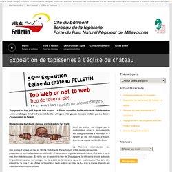 Exposition de tapisseries à l'église du château « Felletin.fr