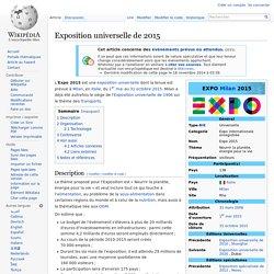 Exposition universelle de 2015