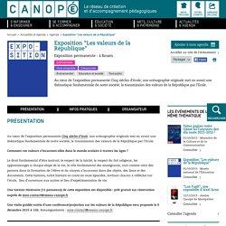 """Exposition """"Les valeurs de la République"""""""