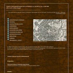 Exposition virtuelle : Carte d'Etat-Major