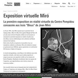Exposition virtuelle Miró