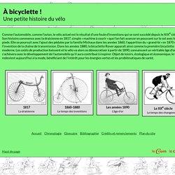 Exposition virtuelle sur le vélo