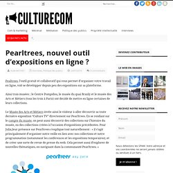 Pearltrees, nouvel outil d'expositions en ligne ?