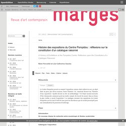 [FR] Marges / Université Paris 8
