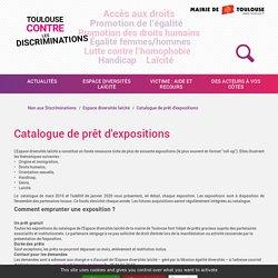 Catalogue de prêt d'expositions - Non aux Discriminations