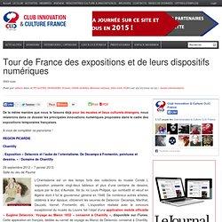 Tour de France des expositions et de leurs dispositifs numériques