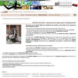 Expositions - Histoire des Arts : ressources en ligne pour l'enseignement