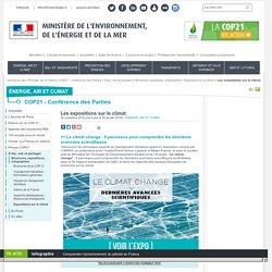 Les expositions sur le climat - Ministère de l'Environnement, de l'Energie et de la Mer