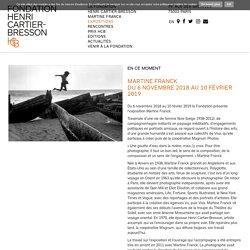 Expositions - Fondation Henri Cartier-Bresson