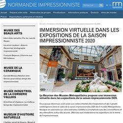 Immersion virtuelle dans les expositions de la saison impressionniste 2020