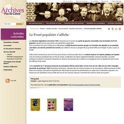 Le Front populaire s'affiche - Expositions itinérantes - Service éducatif - Activités culturelles - Les Archives du Pas-de-Calais (Pas-de-Calais le Département)