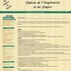 Expositions - Les Papiers du Moulin