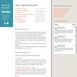 Arts, expositions et musées à Paris