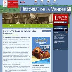 Expo : Culture TV, saga de la télévision française jusqu'au 13/09 aux Lucs-sur-Boulogne