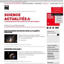 Espace & Astronomie - Science Actualités