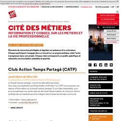 """Clubs """"Cité des métiers"""" - Agendas"""