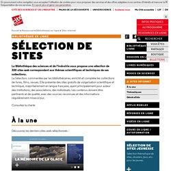 Sélection de sites - Ailleurs sur le Web