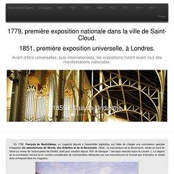 Les expositions universelles de Paris, de 1855 à 1937.