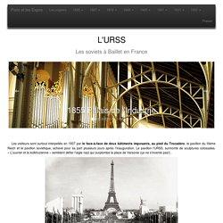 Les expositions universelles de Paris, de 1855 a 1937.