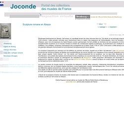 visites guidées - expositions virtuelles - sculpture romane en Alsace