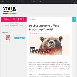 Double Exposure Effect Photoshop Tutorial