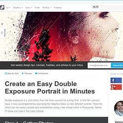 Create an Easy Double Exposure Portrait in Minutes