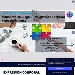 EXPRESION CORPORAL DISTANCIA FISICA by Mª José Alvarez Barrio on Genially