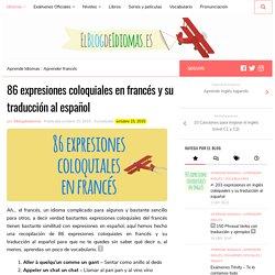86 expresiones coloquiales en francés y su traducción al español - Elblogdeidiomas.es