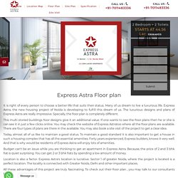 Express Astra Floor plan