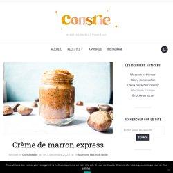 Crème de marron express