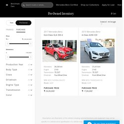 Buy Used/Second Hand Mercedes-Benz Cars in Ahmedabad