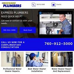 Express Plumber Professional Water Heater Repair Service Apple Valley CA