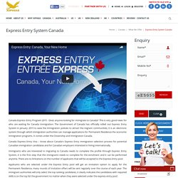 Express Entry Services Alberta - Canada Express Entry Program 2015