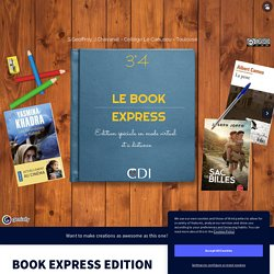 BOOK EXPRESS EDITION SPECIALE by cdi on Genially