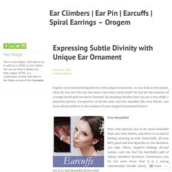 Unique Earcuff Earrings for Women - Orogem