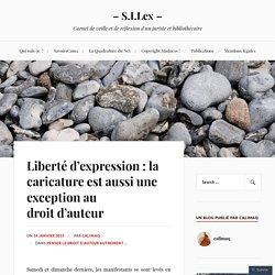Liberté d'expression : la caricature est aussi une exception au droit d'auteur