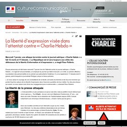 La liberté d'expression visée dans l'attentat contre «Charlie Hebdo»