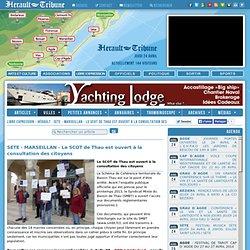 LIBRE EXPRESSION - HÉRAULT : SETE - MARSEILLAN - Le SCOT de Thau est ouvert à la consultation des citoyens