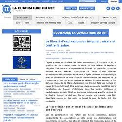 La liberté d'expression sur Internet, envers et contre la haine