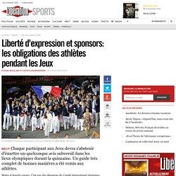 Liberté d'expression et sponsors: les obligations des athlètes pendant les Jeux
