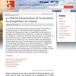 La liberté d'expression et la question du blasphème en France