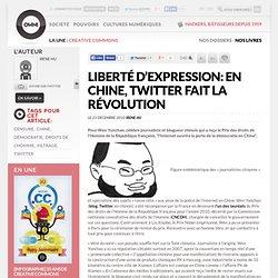 Liberté d'expression: en Chine, Twitter fait la révolution » Article » OWNI, Digital Journalism