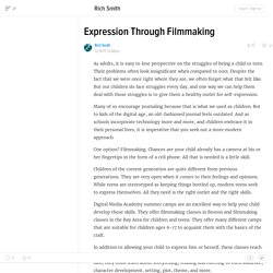 Expression Through Filmmaking