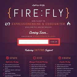 FireFly | ExpressionEngine & CodeIgniter Hosting featuring 24/7 Support